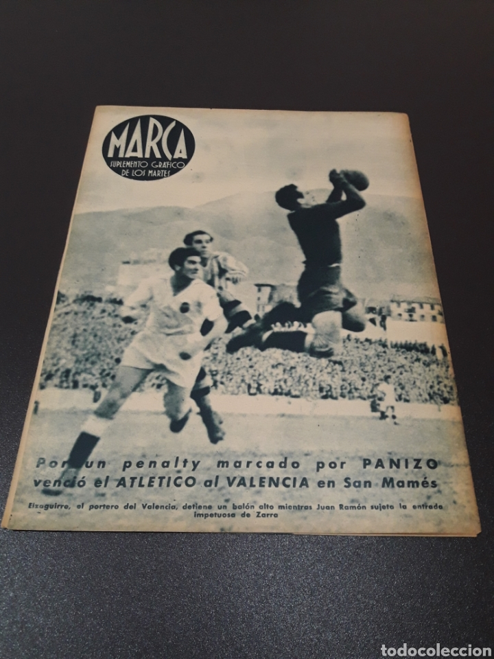 Coleccionismo deportivo: MARCA. N° 20. 08/06/1943. - Foto 13 - 183773872