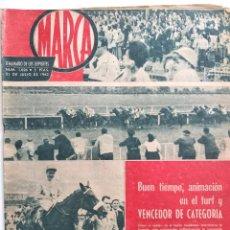 Coleccionismo deportivo: SEMANARIO DE LOS DEPORTES MARCA Nº1026 -EL SEVILLA TEMPORADA 1962-63-SILVEIRA ES AZULGRANA -AÑO 1962. Lote 183774885