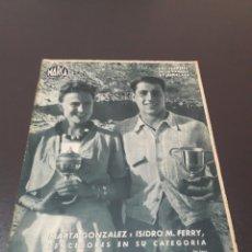 Coleccionismo deportivo: MARCA. N° 38. 17/08/1943.. Lote 183776316
