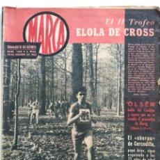 Coleccionismo deportivo: SEMANARIO DE LOS DEPORTES MARCA Nº 1055 - PARTIDO EN SAN MAMÉS - LA LIGA - COPA TERRY- AÑO 1963. Lote 183777413