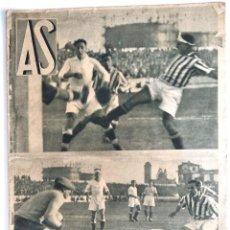 Coleccionismo deportivo: AS REVISTA SEMANAL DEPORTIVA - Nº 38 - LA LIGA DE FUTBOL - II DIVISIÓN DE LIGA DE FUTBOL - AÑO 1933. Lote 183792523