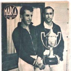 Coleccionismo deportivo: SEMANARIO DE LOS DEPORTES Nº 184 - LA GIMNASIA ESPAÑOLA EN TRANCE DE DESAPARECER - AÑO 1942. Lote 183796796
