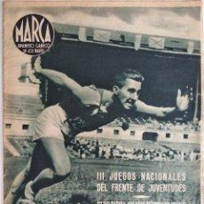 Coleccionismo deportivo: SEMANARIO DE LOS DEPORTES Nº 34 - III JUEGOS NACIONALES DEL FRENTE DE JUVENTUDES - AÑO 1943. Lote 183798930