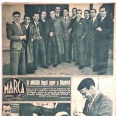 Coleccionismo deportivo: SEMANARIO DE LOS DEPORTES Nº 52 -EL OVIEDO EN MADRID -EL BARCELONA -EL ATLETICO DE BILBAO -AÑO 1943. Lote 183799813