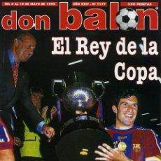 Coleccionismo deportivo: DON BALON - EL REY DE LA COPA. Lote 183874278