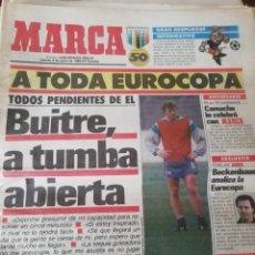 Coleccionismo deportivo: EUROCOPA 1988. 10 DIARIOS MARCA. JUNIO 88. Lote 183911950