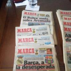 Coleccionismo deportivo: DIARIOS MARCA 1988. 11 PERIÓDICOS ANTIGUOS. ENERO.. Lote 183912057