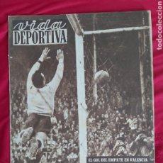 Coleccionismo deportivo: REVISTA VIDA DEPORTIVA N°332 21 ENERO 1952. RCD ESPAÑOL CELTA. Lote 183924026