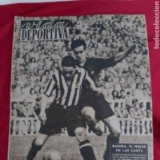 Collectionnisme sportif: REVISTA VIDA DEPORTIVA N°160. 28 SEPTIEMBRE 1948. BASORA. 30000 PERSONAS KO EN LA MONUNENTAL. Lote 183925983