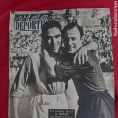 Coleccionismo deportivo: REVISTA VIDA DEPORTIVA N°161. 5 OCTUBRE 1948. MEMORIAS DE JOSE SAMITIER. Lote 183926178