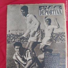 Coleccionismo deportivo: REVISTA VIDA DEPORTIVA. 12 OCTUBRE 1948. SEVILLA ESPAÑOL. Lote 183926392