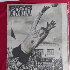 Coleccionismo deportivo: REVISTA VIDA DEPORTIVA N°163. 19 OCTUBRE 1948. VICTORIA SABADELL. LOS EQUIPOS CATALANES EN LS LIGA. Lote 183927582