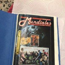 Coleccionismo deportivo: REVISTAS AS HISTORIA DE LOS MUNDIALES DE FÚTBOL 1930-1990 ENCUADERNAS - VER LAS FOTOS. Lote 183964653
