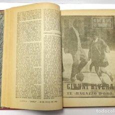 Coleccionismo deportivo: COMPLETO ENCUADERNADO 40 DÍAS 40 ASES 40 BIOGRAFÍAS JULIO AGOSTO 1964 MARCA CASSIUS CLAY LUIS SUÁREZ. Lote 183999831