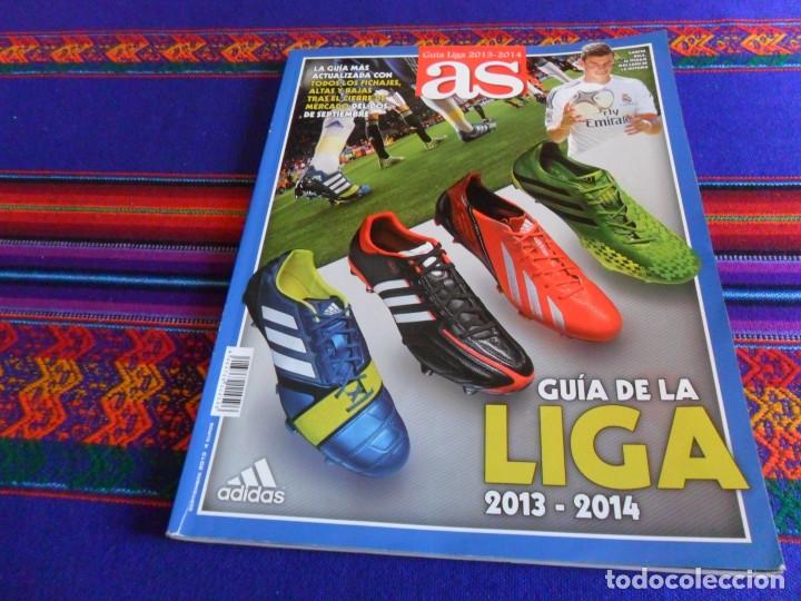 GUÍA DE LA LIGA 2013 2014 13 14 DIARIO AS. DIFÍCIL. (Coleccionismo Deportivo - Revistas y Periódicos - As)