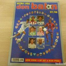 Collezionismo sportivo: EXTRA LIGA 97/98 DON BALÓN NÚM. 37 COMO NUEVO!. Lote 184218967