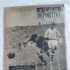 Coleccionismo deportivo: REVISTA VIDA DEPORTIVA N°175 11 ENERO 1949. SAMITIER ENJUICIA LA WM. Lote 184352020