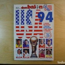 Coleccionismo deportivo: DON BALON EXTRA Nº25 ESPECIAL MUNDIAL USA 94 . Lote 184366978
