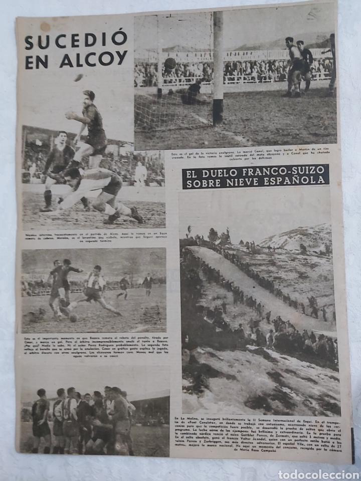 Coleccionismo deportivo: VIDA DEPORTIVA N°178 1 FEBRERO 1949. LA VICTORIA DE ALCOY - Foto 2 - 184368000