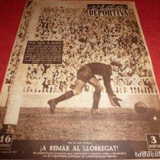 Coleccionismo deportivo: (LLL)VIDA DEPORTIVA Nº:280(23-1-51) BARÇA 2 MURCIA 1,LERIDA 1 R.SOCIEDAD 0. Lote 184460966