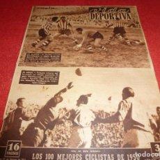 Coleccionismo deportivo: (LLL)VIDA DEPORTIVA Nº:285(27-2-51)LÉRIDA 0 BARÇA 3,ESPAÑOL 3 BILBAO 2. Lote 184462828