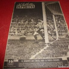 Coleccionismo deportivo: (LLL)VIDA DEPORTIVA Nº:296(1-5-51)COPA BARÇA 0 BILBAO 0,R.SOCIEDAD 1 R.MADRID 0,INGLATERRA-ARGENTINA. Lote 184465162