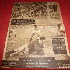 Coleccionismo deportivo: (LLL)VIDA DEPORTIVA Nº: 402(25-5-53) DI STEFANO,ROCKY MARCIANO,VALENCIA 1 BARÇA 1,ESPAÑOL 4 GIJON 1. Lote 184467005