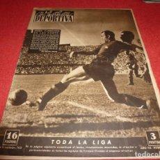 Coleccionismo deportivo: (LLL)VIDA DEPORTIVA Nº: 262(12-9-50) LÉRIDA 2 CELTA 3,BARÇA 8 R.SOCIEDAD 2.. Lote 184680712