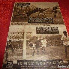 Coleccionismo deportivo: (LLL)VIDA DEPORTIVA Nº: 435(18-1-54) JAEN 2 BARÇA 2,ESPAÑOL 1 OSASUNA 0. Lote 184684196