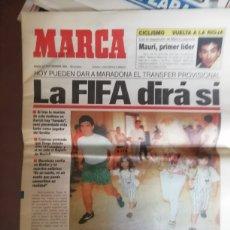 Coleccionismo deportivo: DIEGO MARADONA AL SEVILLA. SEPTIEMBRE 1992.. Lote 184708461