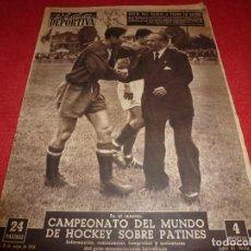 Coleccionismo deportivo: (LLL)VIDA DEPORTIVA Nº: 454(31-5-54)ESPAÑOL 1 SEVILLA 2,U.D.L.PALMAS A 1ª DIV.,R.MADRID 2 URUGUAY 0 . Lote 185777481