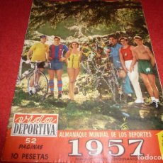 Coleccionismo deportivo: (LLL)VIDA DEPORTIVA Nº:(EXTRA-1957)EL HONVED,KUBALA Y PUSKAS,PIRELLI,JOAQUIN BLUME. Lote 185782486