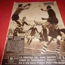 Coleccionismo deportivo: (LLL)VIDA DEPORTIVA Nº:594(4-2-57)NESCAFÉ Y LA LECHERA,R.MADRID 0 AT.MADRID 2,PAZOS,CONDAL,BARÇA. Lote 185782748