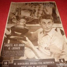 Coleccionismo deportivo: (LLL)VIDA DEPORTIVA Nº:617(15-7-57) ANQUETIL,FLOYD PATTERSON(BOXEO). Lote 185787147