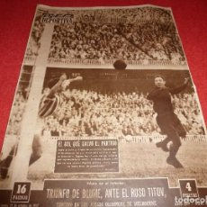 Coleccionismo deportivo: (LLL)VIDA DEPORTIVA Nº:631(21-10-57)BARÇA 1 R.SOCIEDAD 0,JOAQUIN BLUME.. Lote 185788288