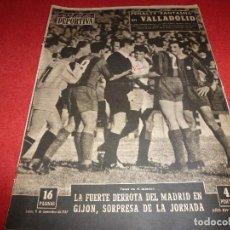 Coleccionismo deportivo: (LLL)VIDA DEPORTIVA Nº:634(11-11-57) ESPAÑOL 0 VALENCIA 0,VALLADOLID 1 BARÇA 2. Lote 185788573