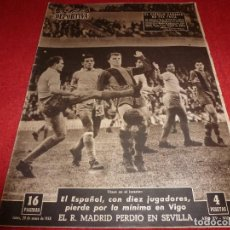 Coleccionismo deportivo: (LLL)VIDA DEPORTIVA Nº:644(20-1-58)ADIÓS BASORA,BARÇA 2 L.PALMAS 0,SUGAR RAY ROBINSON(BOXEO). Lote 185872973