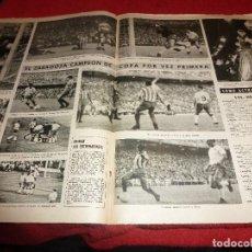 Coleccionismo deportivo: (LLL)VIDA DEPORTIVA FINAL COPA 1964 !!!!ZARAGOZA 2 AT.MADRID 1 !!!-SOLO REPORTAJE PAGINAS CENTRALES. Lote 185880017