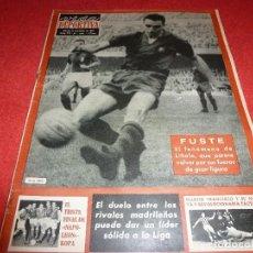 Coleccionismo deportivo: (LLL)VIDA DEPORTIVA Nº:1001(21-11-64)FUSTÉ(BARÇA)-EL BARÇA-CELTIC DE GLASGOW. Lote 185881776