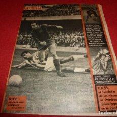 Coleccionismo deportivo: (LLL)VIDA DEPORTIVA Nº:1011(30-1-65)SELECCION CATALANA FUTBOL,KOCSIS,RICARDO LAPETRA,MUNDIAL-66. Lote 185882243