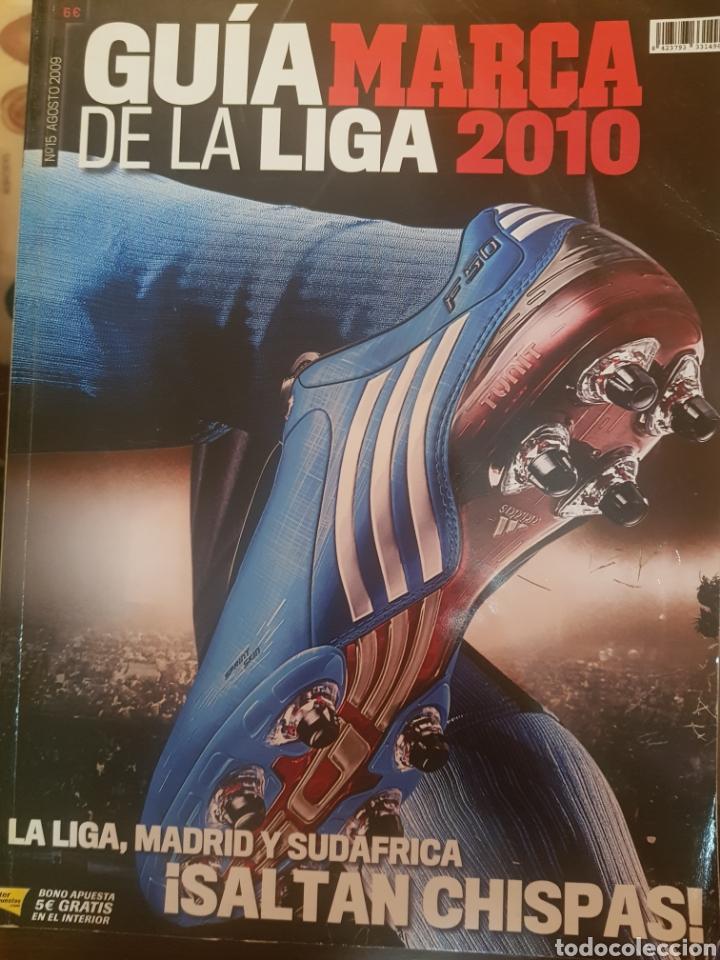 GUIA DE LA LIGA 2010 MARCA (Coleccionismo Deportivo - Revistas y Periódicos - Marca)