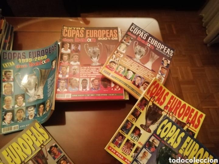 Coleccionismo deportivo: Don balon. Extra copas Europeas 1998- 2006. - Foto 3 - 185936673