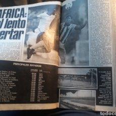 Coleccionismo deportivo: EL FUTBOL DE AFRICA EL LENTO DESPERTAR - 6 PAGINAS AÑO 1984. Lote 185975335
