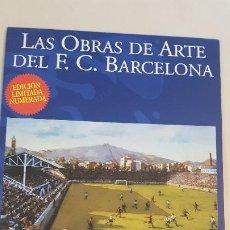 Coleccionismo deportivo: ANTONI VIDAL ROLLAND-LAS OBRAS DE ARTE DEL C.F.BARCELONA. Lote 185978250