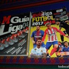 Coleccionismo deportivo: GUÍA LIGA FÚTBOL 2017 2018 17 18 Y MARCA GUÍA LIGA 04 TEMPORADA 2003 2004.. Lote 186007955