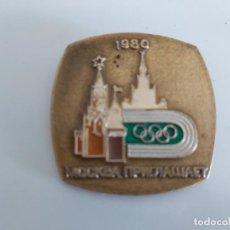 Coleccionismo deportivo: INSIGNIA URSS OLIMPIADA 80 MOSCU.. Lote 186057251