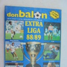 Coleccionismo deportivo: REVISTA DON BALÓN EXTRA LIGA 88/89 -EXTRA Nº 16.. Lote 186258213