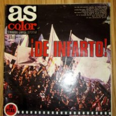 Coleccionismo deportivo: AS COLOR Nº 436 POSTER CENTRAL ATLETICO DE MADRID 1979-1980. Lote 186258455
