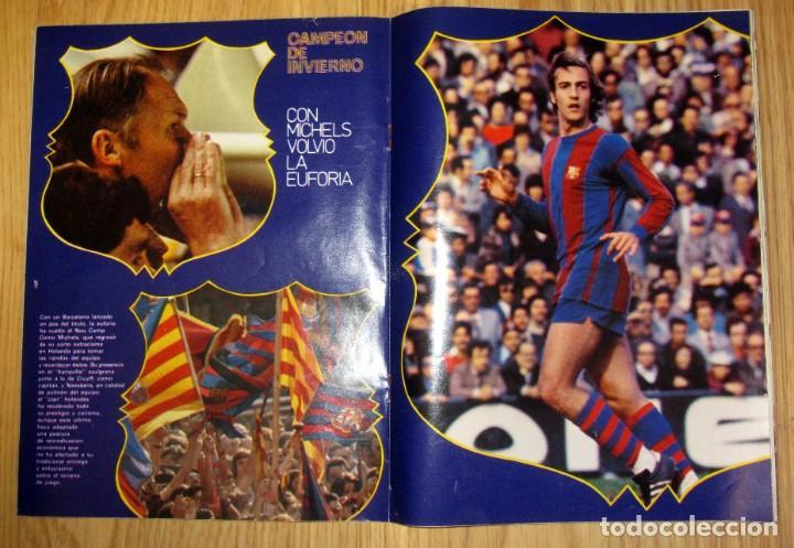Coleccionismo deportivo: REVISTA DON BALON 1977 Nº 67 POSTER 8 PAGINAS FC BARCELONA CAMPEON INVIERNO CRUYFF - Foto 2 - 186258800