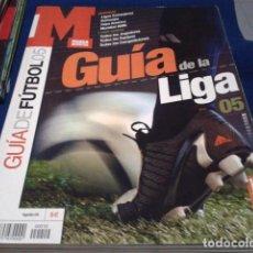 Coleccionismo deportivo: GUIA MARCA(LIGA 05 -2004/05) MUNDIAL, JUGADORES, EQUIPOS, COMPETICIONES, LIGAS DE EUROPA, EUROCOPA, . Lote 186274662